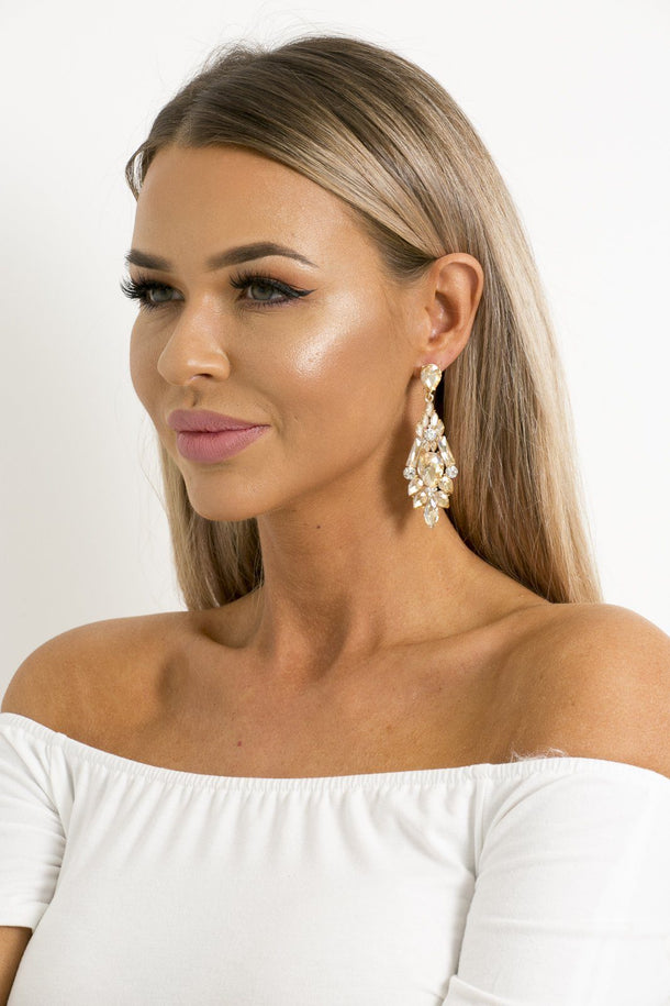 Zoe Earrings In Gold