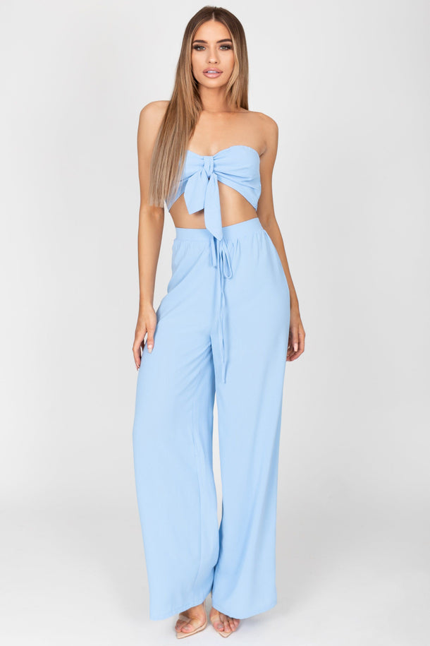 Danielle Two Piece in Baby Blue