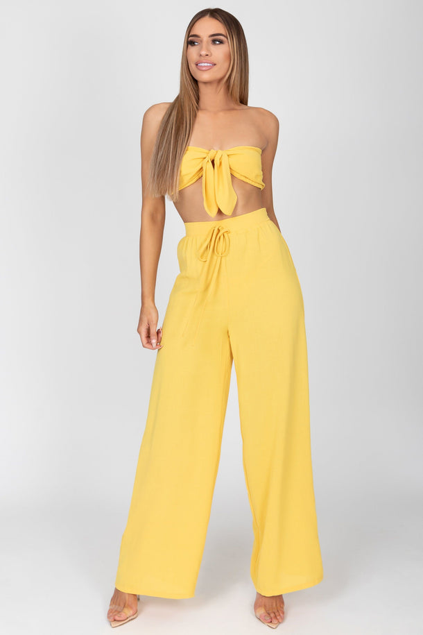 Danielle Two Piece in Yellow