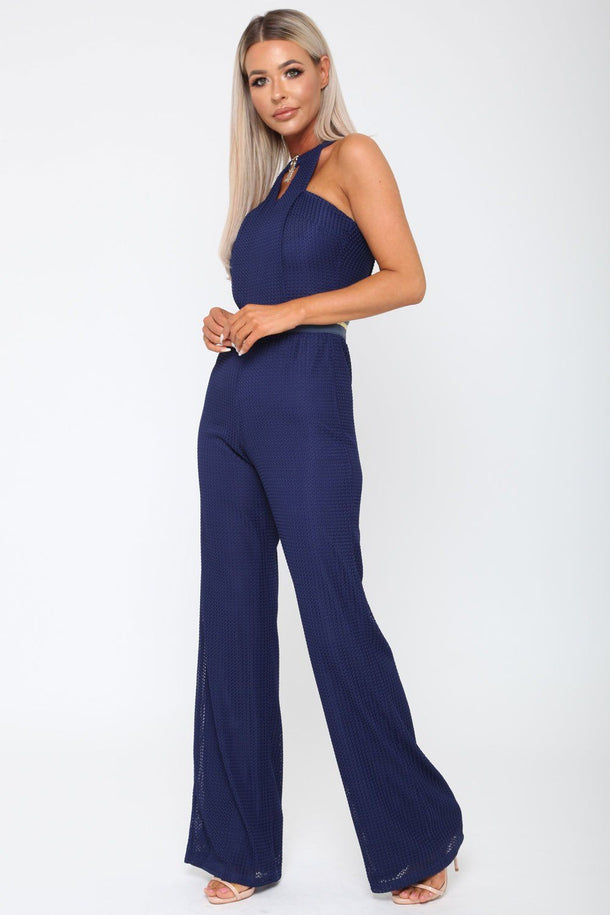 Lexx Jumpsuit in Navy