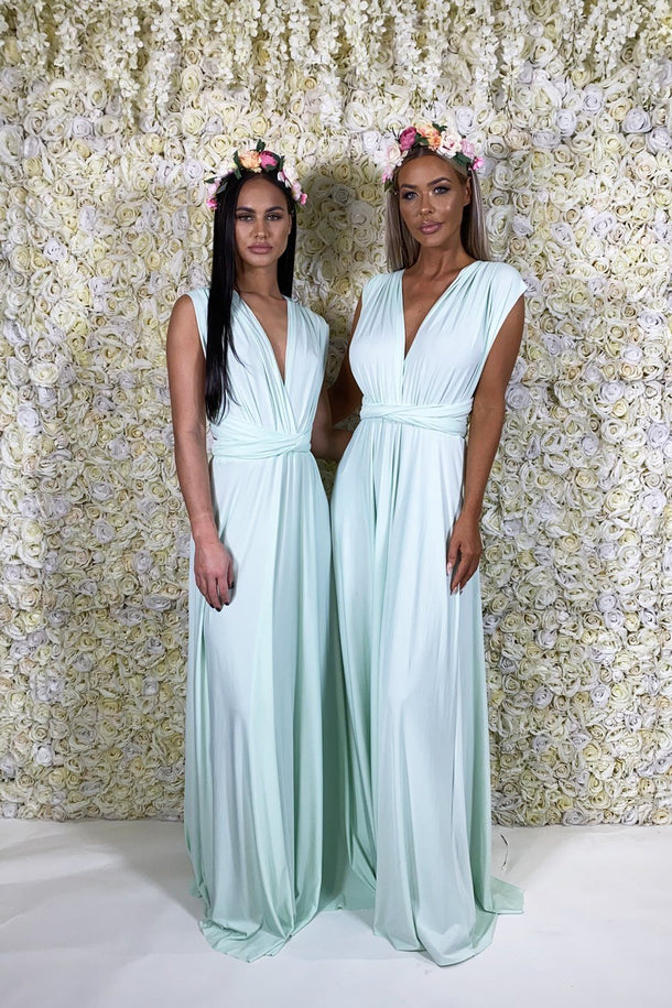 Multiway Gown in Mint