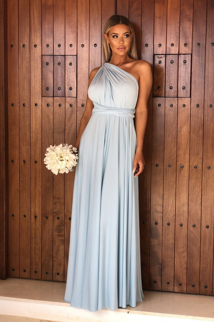 Multiway Dress in Baby Blue