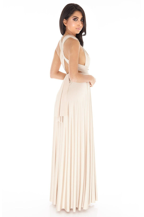 Multiway Dress in Champagne