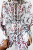 Calabassa Paisley Shirt Dress