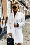 Charlotte Teddy Coat in Ivory