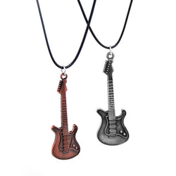 Retro Guitar Choker Necklace