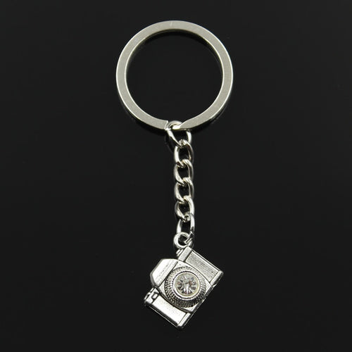 Metal Retro Camera Keyring