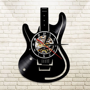 guitar wall clock no led