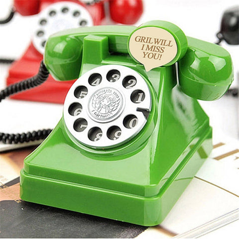 Retro Telephone Coin Bank