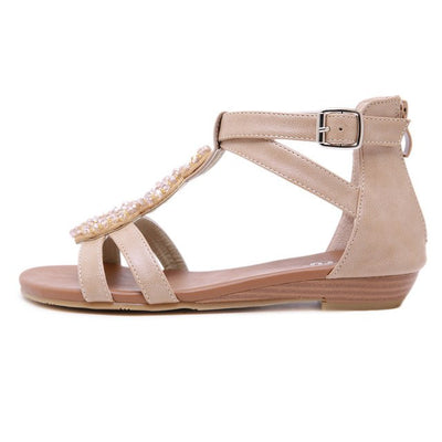 Solid Color Sandals