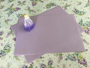 Lavender Place Mat 30cm x 43cm sold in pairs