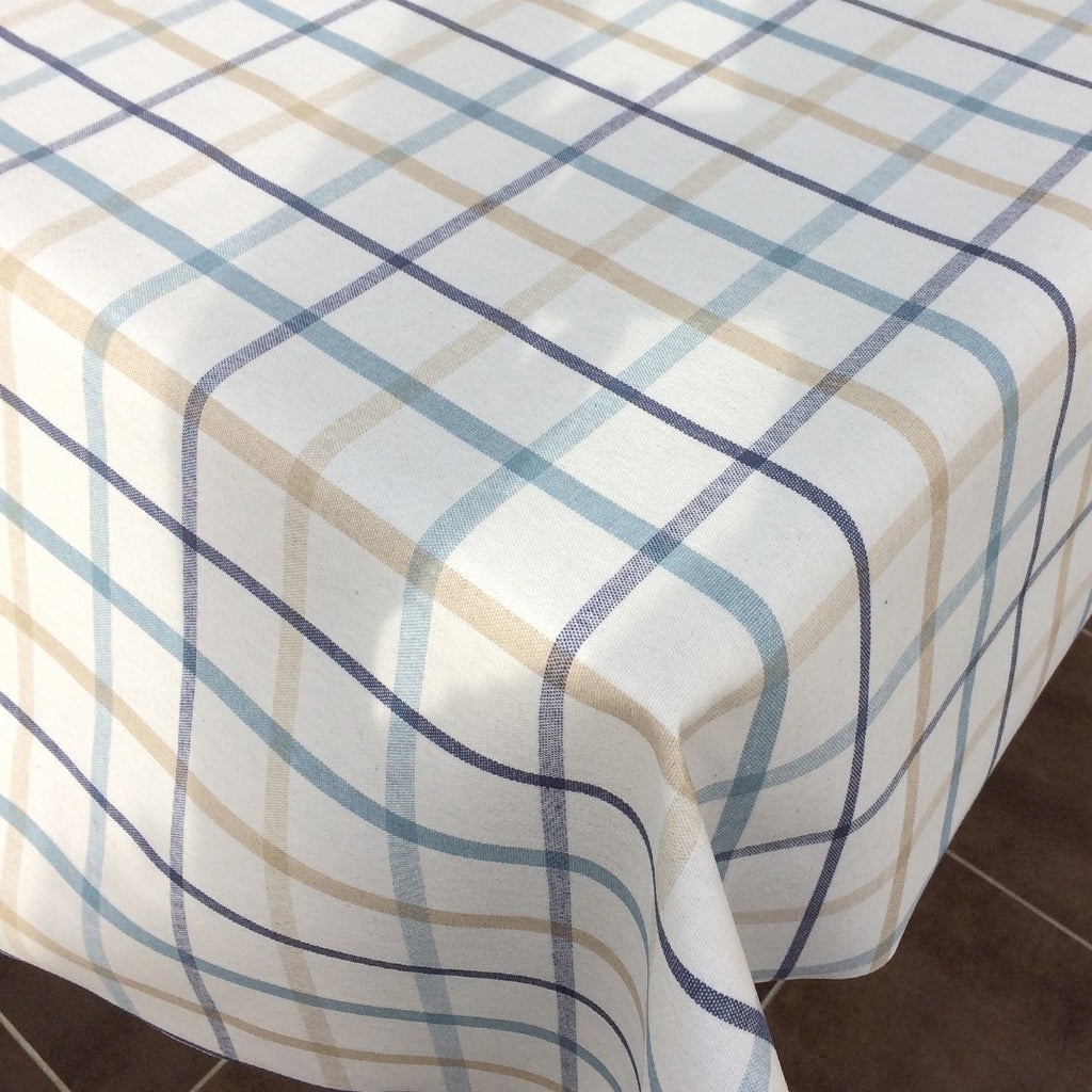 Just Check Mate 140cm Wipe clean Acrylic Tablecloth