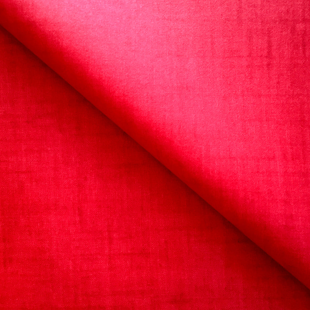 Bright Red 155cm Wipe clean Acrylic Tablecloth