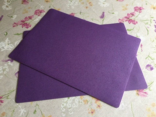 Purplke Place Mat 30cm x 43cm ( sold in pairs)