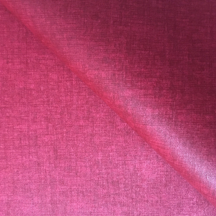 Raspberry 155cm Wipe clean Acrylic Tablecloth