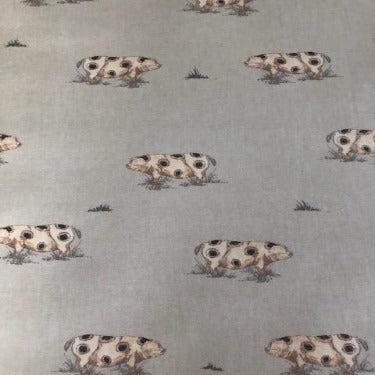 Country Pigs 130cm Wipe Clean PVC Tablecloth