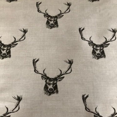 Country Stags Head 130cm Wipe Clean Gloss PVC Tablecloth