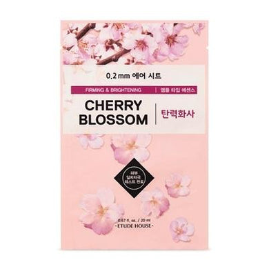 ETUDE HOUSE 0.2mm Cherry Blossom Air Mask (Firming & Brightening) - Philosophy Glow