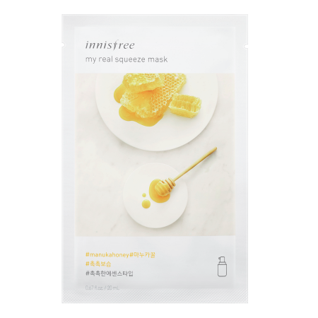 Innisfree My Real Squeeze Mask - Manuka Honey - Philosophy Glow
