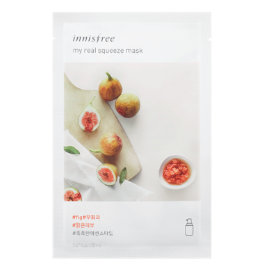 INNISFREE My Real Squeeze Mask - Fig - Philosophy Glow