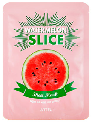 A'PIEU Watermelon Slice Sheet Mask - Philosophy Glow