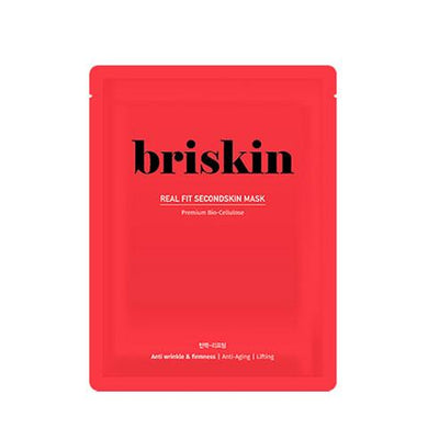 BRISKIN Real Fit Second Skin Mask - Anti-wrinkle & Firmness - Philosophy Glow