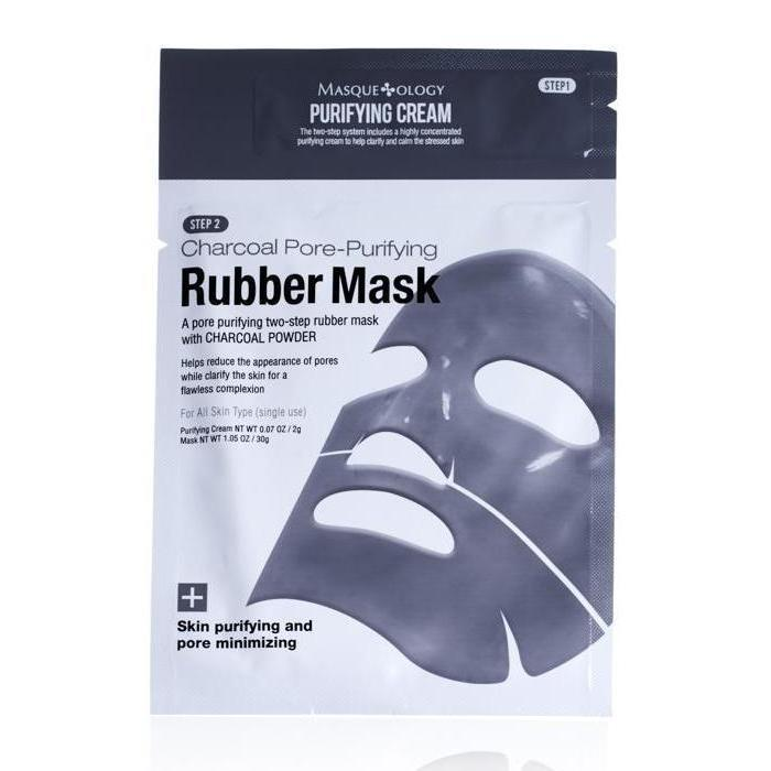 MASQUEOLOGY Charcoal Pore-Purifying Rubber Mask - Philosophy Glow
