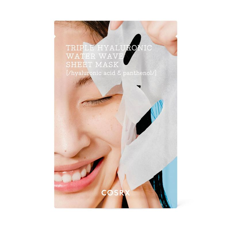COSRX Hydrium Triple Hyaluronic Water Wave Sheet Mask