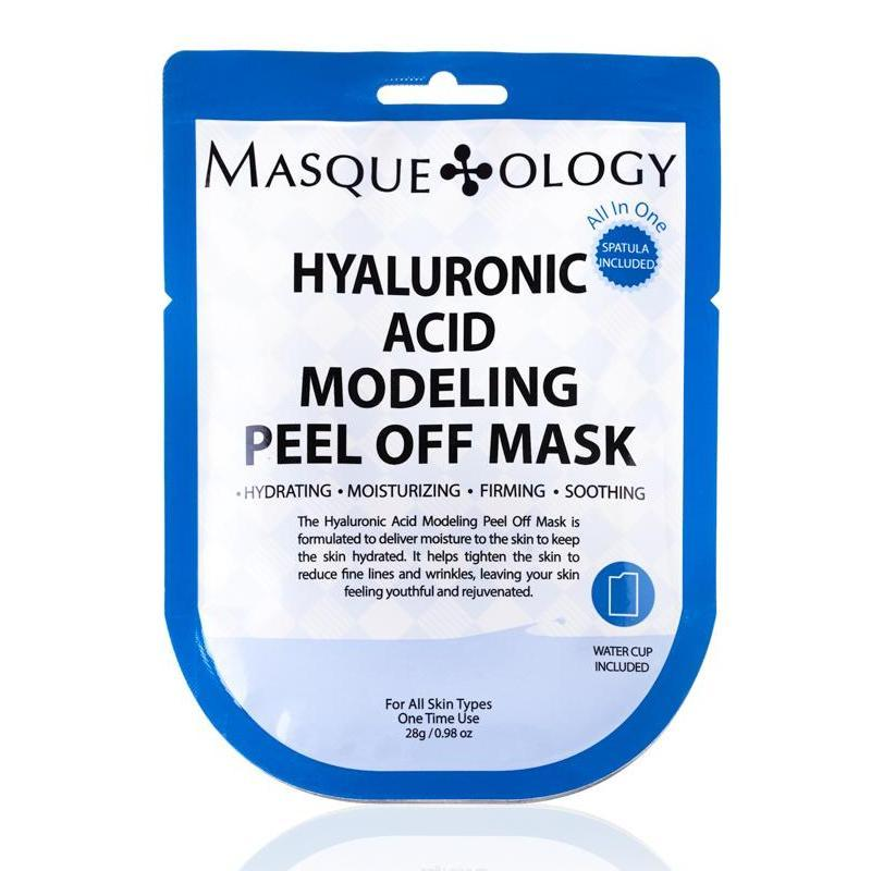 MASQUEOLOGY Hyaluronic Acid Modeling Peel Off Mask
