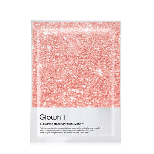 GLOWHILL Glam Pink Makeup Facial Mask