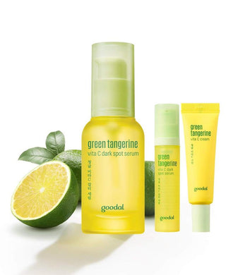 GOODAL Green Tangerine Vita C Dark Spot Serum Set