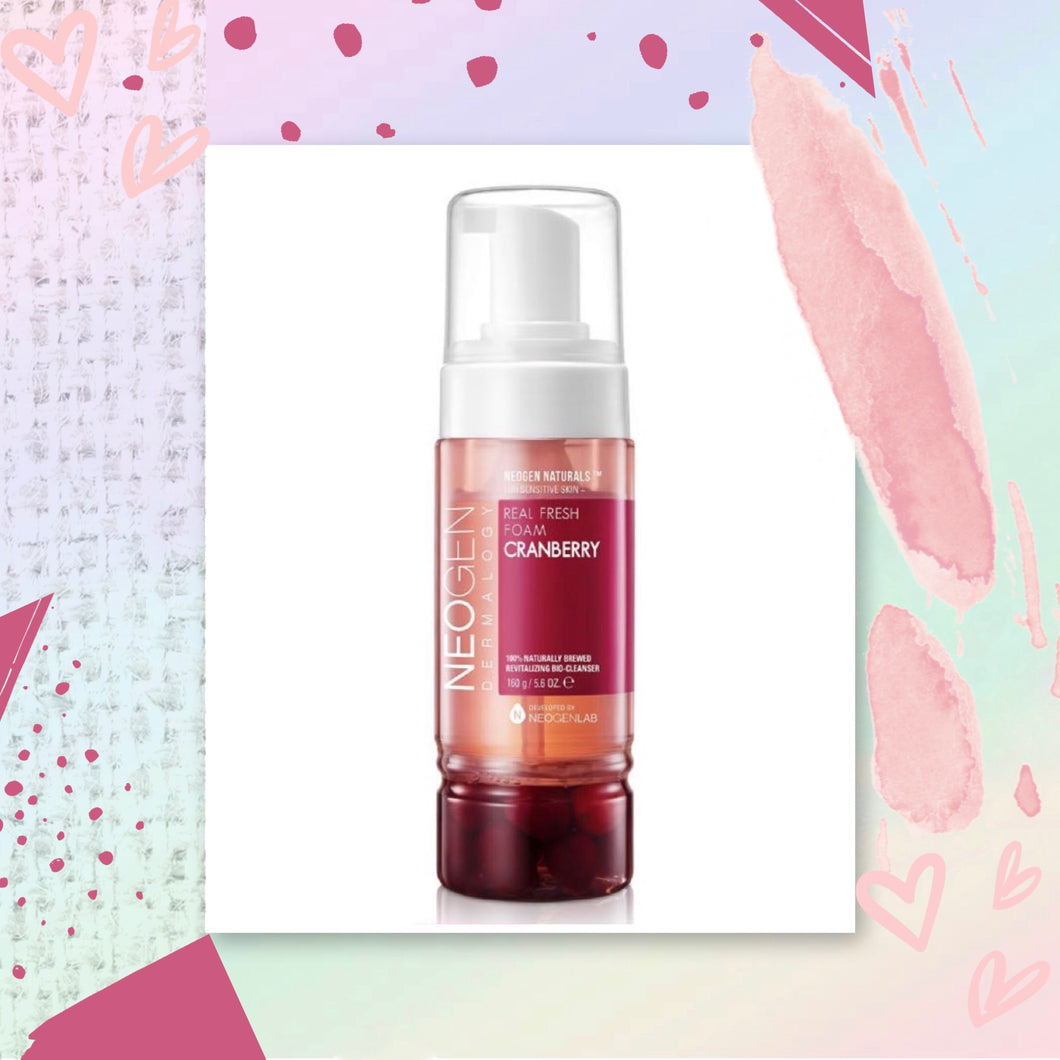 NEOGEN Cranberry Real Fresh Foam Cleanser