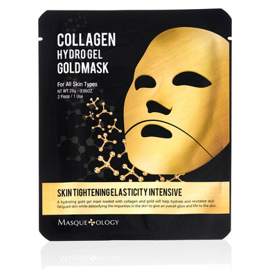 MASQUEOLOGY Gold Collagen Hydro-Gel Mask - Philosophy Glow