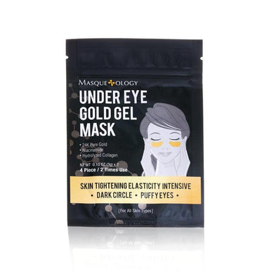 MASQUEOLOGY Under Eye Gold Gel Mask - 24K