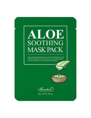 BENTON Aloe Soothing Mask Pack - Philosophy Glow