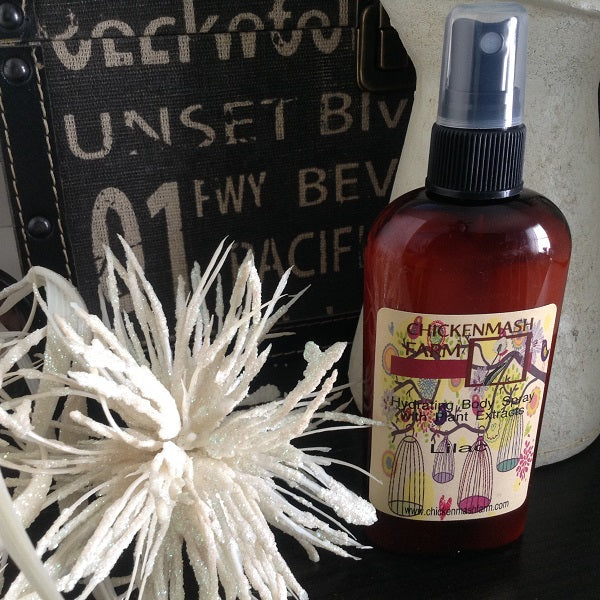 lilac fragrant body mist