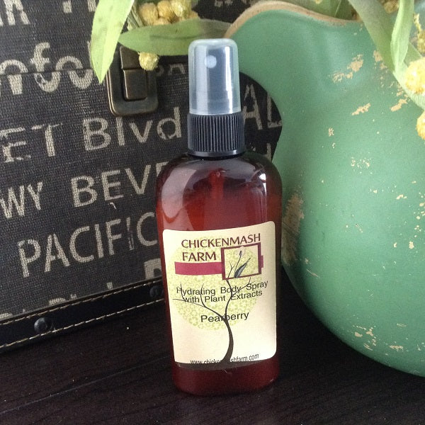Pearberry fragrant body mist