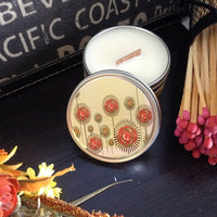 rice flower and shea candle