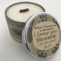 Inspirational Candle | Baby Powder Scented Candle
