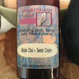 Maple Chai Sweet Cream Holiday Scented Body Spray