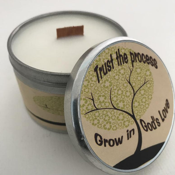 Inspirational Candle | Grow In Love | Pearberry Candle Fragrance