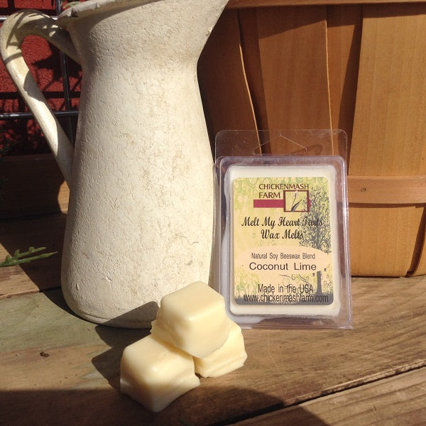 coconut lime candle melts
