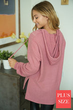 Load image into Gallery viewer, Ultra Soft Knit Curvy Hoodie