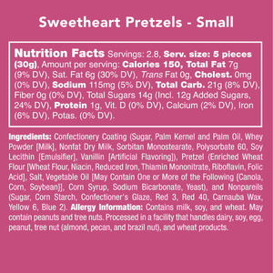 CANDY CLUB - Sweetheart Pretzels