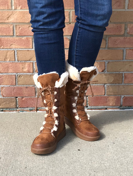 Tall Fur Lined Boot