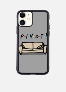 PIVOT GRAY iPhone Case