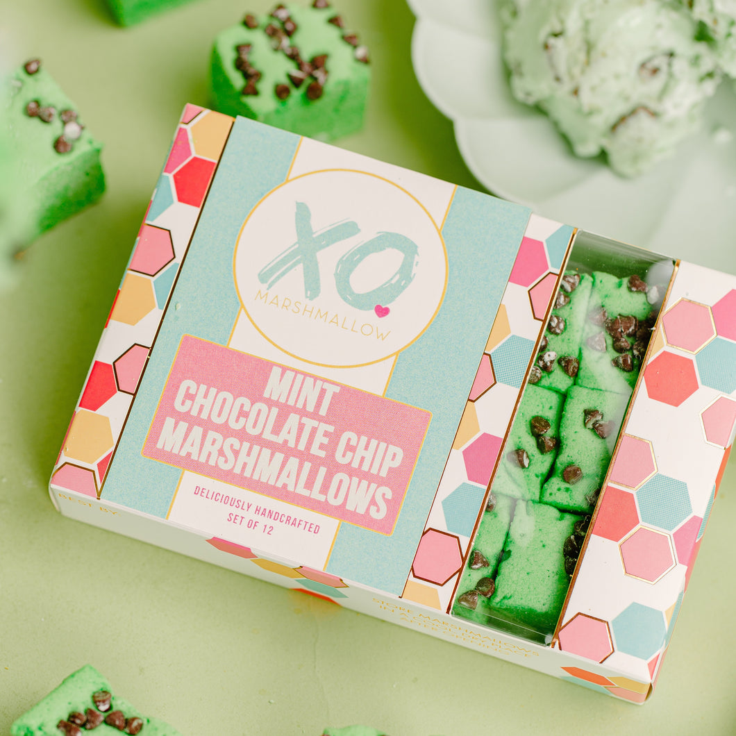 XO Marshmallows - MINT CHOCOLATE CHIP