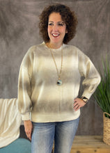 Load image into Gallery viewer, Soft Ombre Stripe Sweater