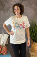 Load image into Gallery viewer, LOVE NURSE Graphic Tee