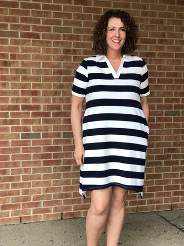 Rugby Striped Dress